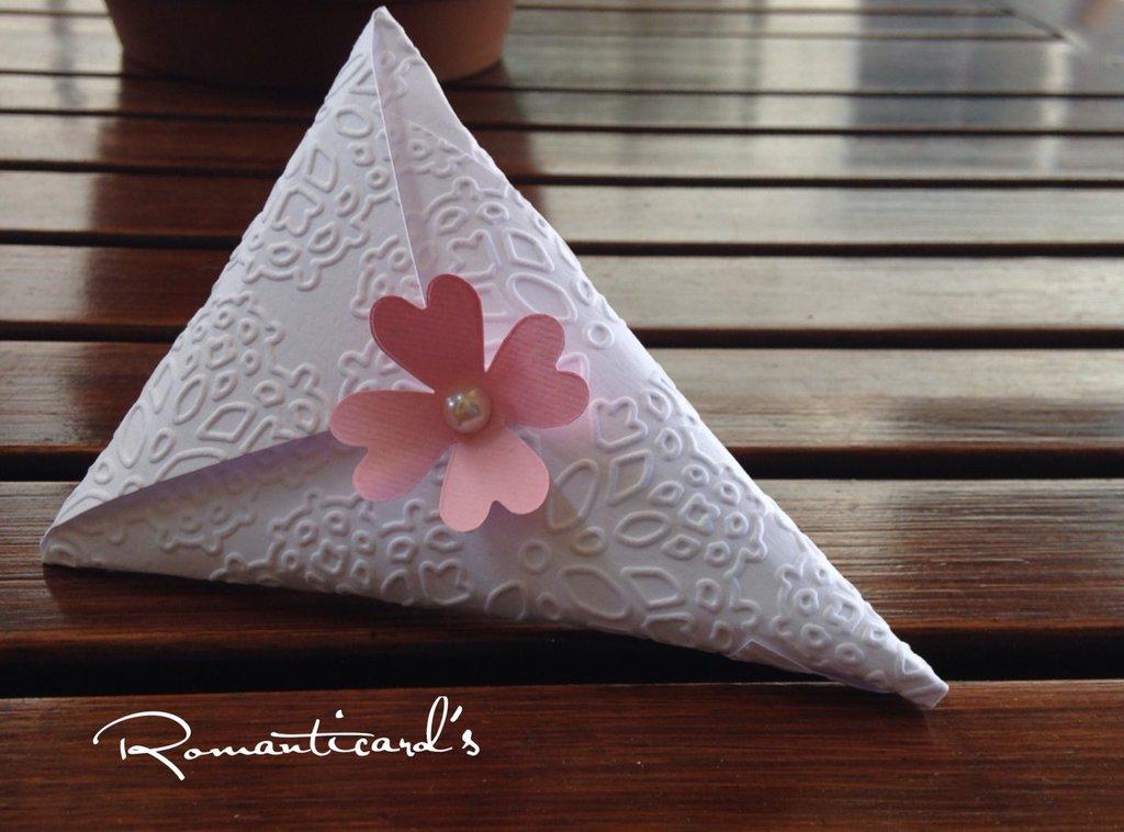 Bustina porta confetti, gioiello o riso by Romanticards