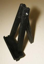 Mini Cavalletto pittore tripode treppiedi trespolo decoupage su plastica