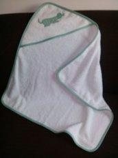Accappatoio neonato spugna
