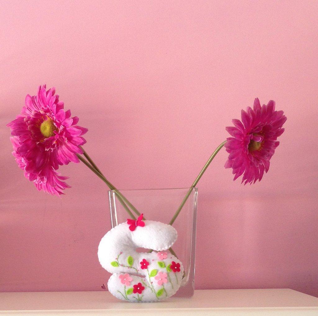 Le Letterone fiori e farfalle
