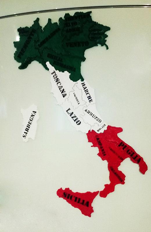 Nuovo Puzzle 3D Regioni Italia con magneti Giochi