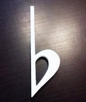 DECOUPAGE Note Musicali musica Bemolle decorare sagoma decorazioni plastica