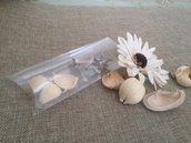 cuscino trasparente in pvc porta confetti,dolcetti