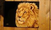 Quadro con leone