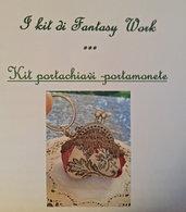 KIT - FAI IL TUO PORTACHIAVI / PORTAMONETE CLIC-CLAC