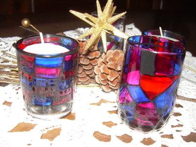 bicchierini portacandele