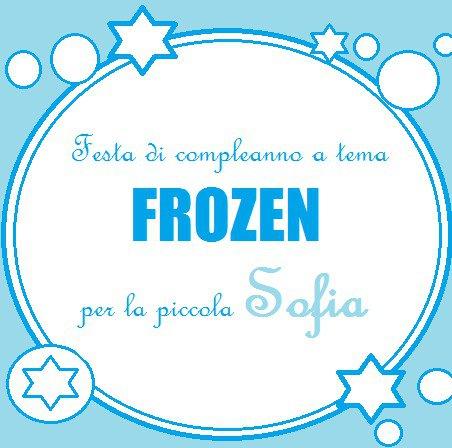 Festa di compleanno Frozen per la piccola Sofia: gadget e decorazioni per la principessa di casa