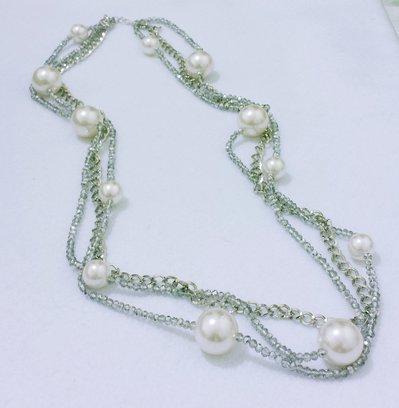 """Collana """"Luce bianca diamantata"""""""