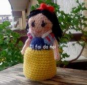Biancaneve, amigurumi, crochet