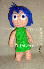 Amigurumi GIOIA - INSIDE OUT, uncinetto crochet