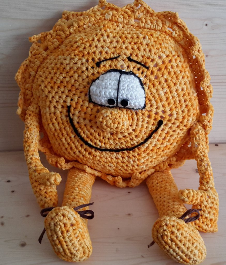 Cuscino - pupazzo Sole