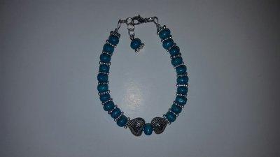 Bracciale turchese argento