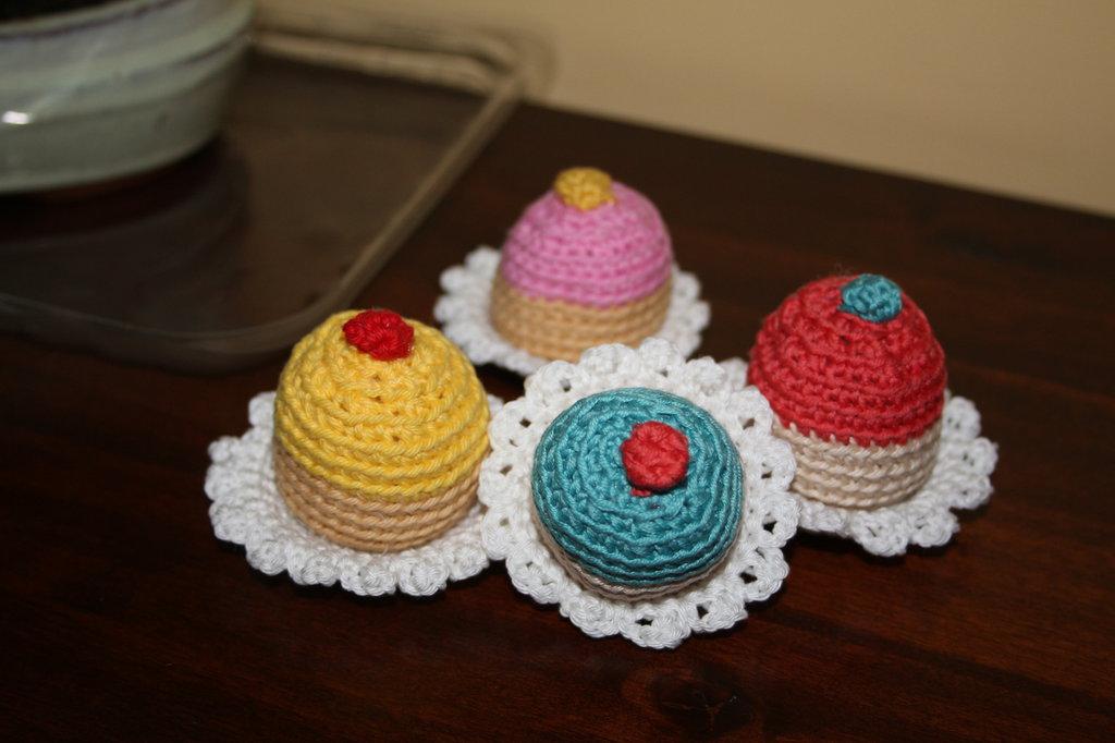 Mini cupcake colorati