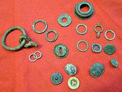 vecchi bottoni e rondelle (A-18)