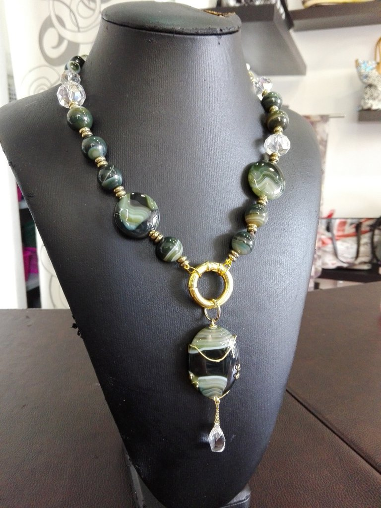 *Parure Green Peace* - Collana