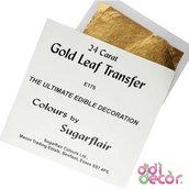 Foglia oro commestibile 24 carati - Sugarflair