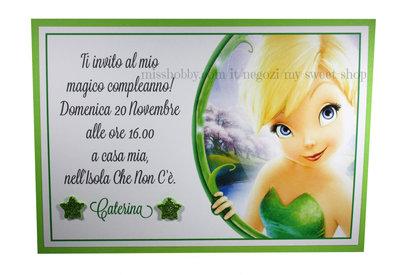 Invito Compleanno o altre cerimonie con Trilli Campanellino