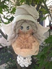 Natale - angelo dell'inverno da appendere all'albero di Natale ma non solo......