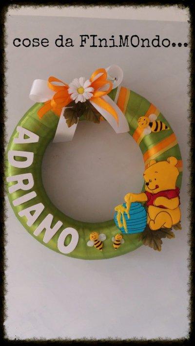 fiocco nascita winny the pooh