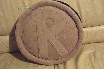 Cuscino Ringo handmade fatto a mano idea regalo San Valentino pile Antipilling