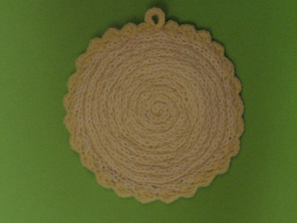 Sottopentola di lana personalizzabile