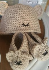 Scarpine e cappellino topolino