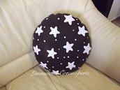 Cuscino Pandistelle Pan di Stelle handmade idea regalo San Valentino pillow