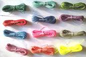 150 metri di filo cerato LINHASITA  1 mm di spessore, filo per macramè, filo brasiliano, 50 colori x 3 metri
