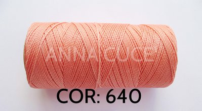 COLORE: 640 - 20 metri filo cerato LINHASITA 1 mm di spessore, filo per macramè, materiali
