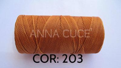 COLORE: 203 - 20 metri filo cerato LINHASITA 1 mm di spessore, filo per macramè, materiali