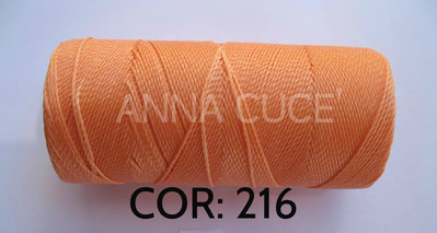 COLORE: 216 - 20 metri filo cerato LINHASITA 1 mm di spessore, filo per macramè, materiali