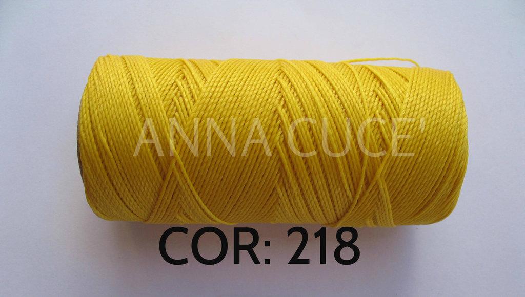 COLORE: 218 - 20 metri filo cerato LINHASITA 1 mm di spessore, filo per macramè, materiali