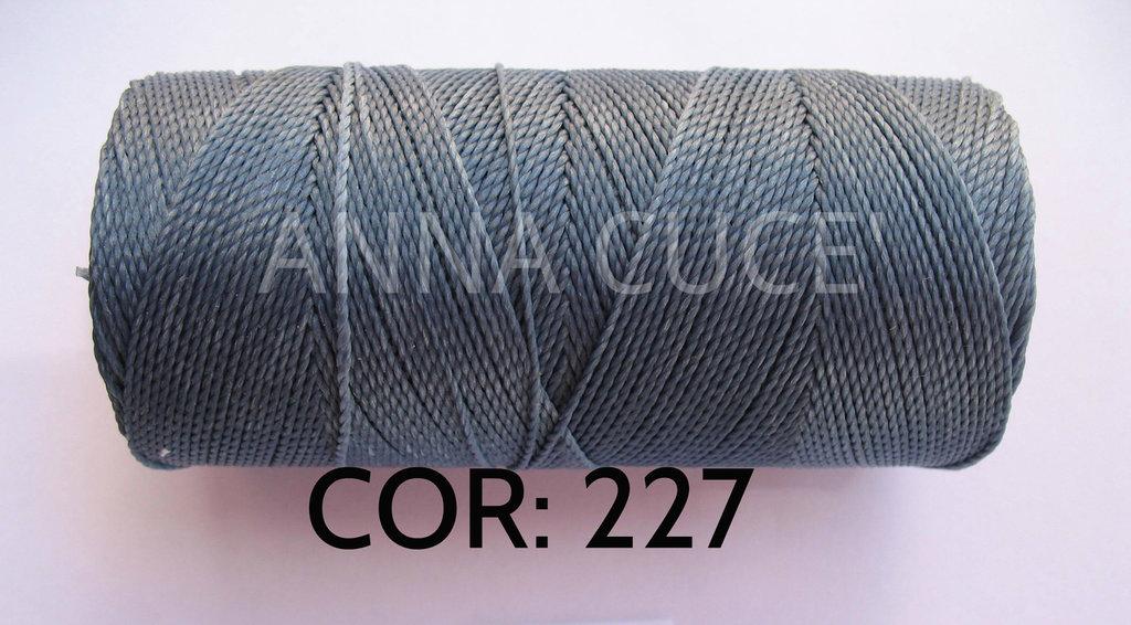 COLORE: 227 - 20 metri filo cerato LINHASITA 1 mm di spessore, filo per macramè, materiali