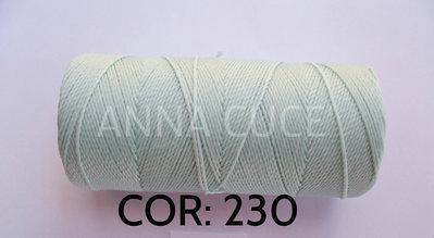 COLORE: 230 - 20 metri filo cerato LINHASITA 1 mm di spessore, filo per macramè, materiali