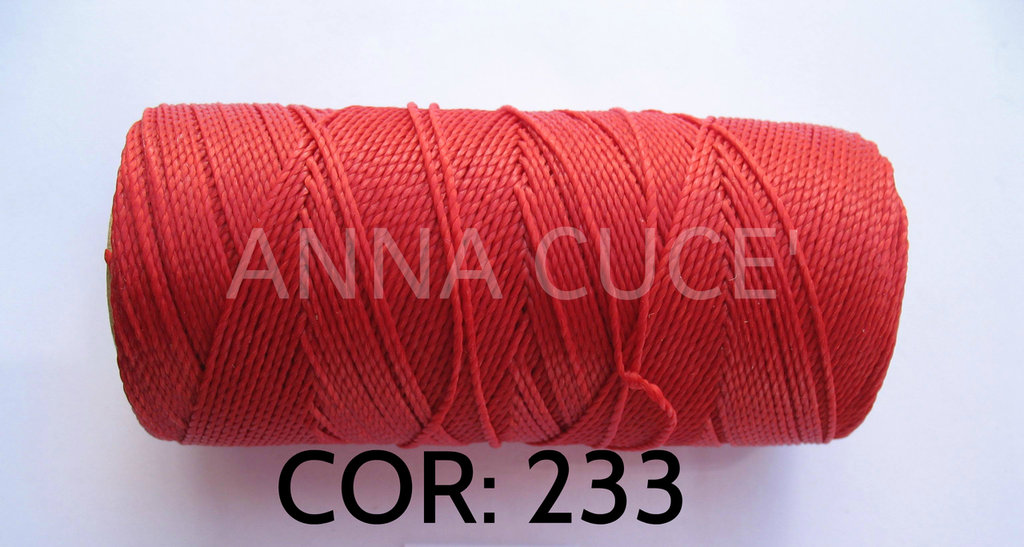 COLORE: 233 - 20 metri filo cerato LINHASITA 1 mm di spessore, filo per macramè, materiali