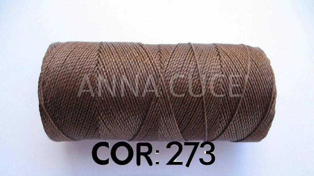 COLORE: 273 - 20 metri filo cerato LINHASITA 1 mm di spessore, filo per macramè, materiali