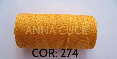 COLORE: 274 - 20 metri filo cerato LINHASITA 1 mm di spessore, filo per macramè, materiali
