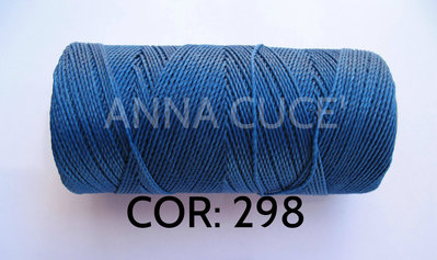 COLORE: 298 - 20 metri filo cerato LINHASITA 1 mm di spessore, filo per macramè, materiali