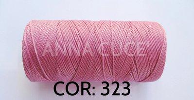 COLORE: 323 - 20 metri filo cerato LINHASITA 1 mm di spessore, filo per macramè, materiali