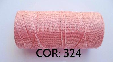 COLORE: 324 - 20 metri filo cerato LINHASITA 1 mm di spessore, filo per macramè, materiali