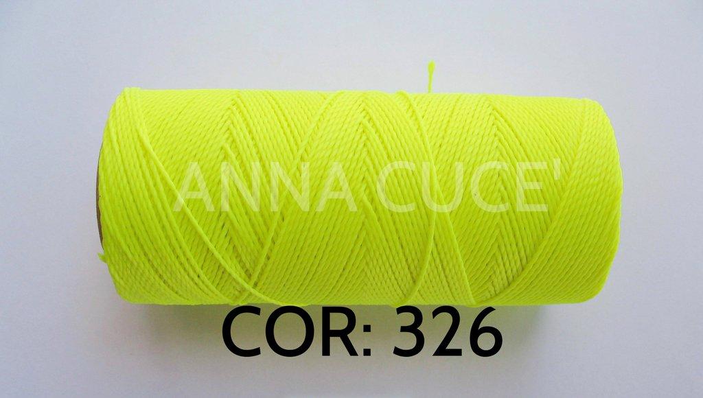 COLORE: 326 - 20 metri filo cerato LINHASITA 1 mm di spessore, filo per macramè, materiali