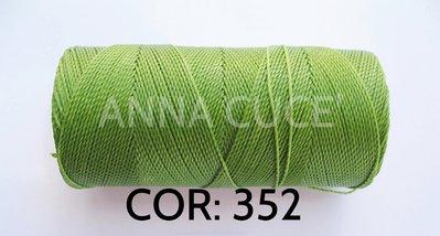COLORE: 352 - 20 metri filo cerato LINHASITA 1 mm di spessore, filo per macramè, materiali