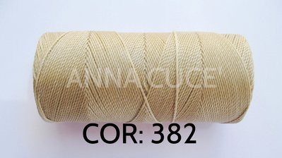 COLORE: 382 - 20 metri filo cerato LINHASITA 1 mm di spessore, filo per macramè, materiali