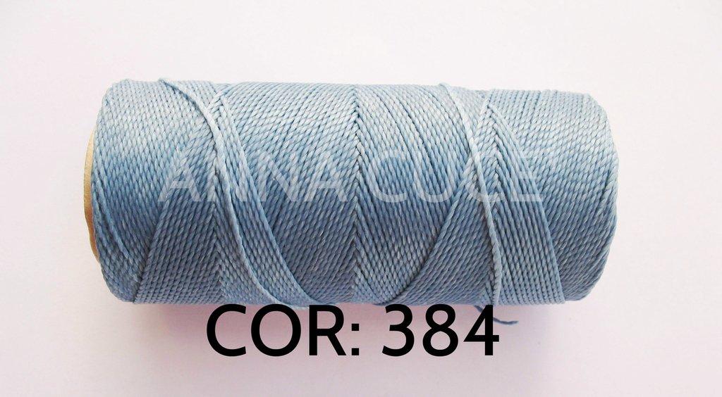 COLORE: 384 - 20 metri filo cerato LINHASITA 1 mm di spessore, filo per macramè, materiali