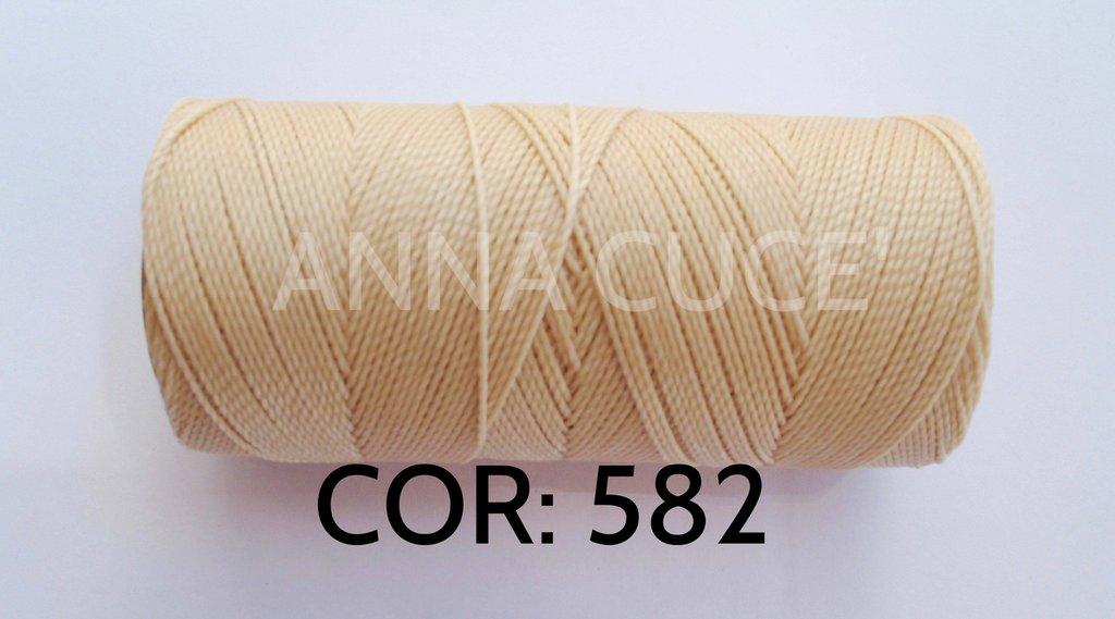 COLORE: 582 - 20 metri filo cerato LINHASITA 1 mm di spessore, filo per macramè, materiali