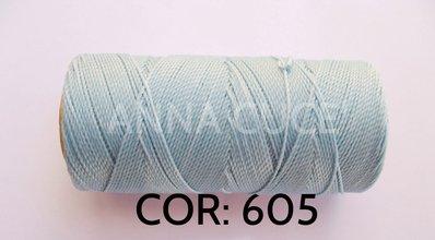 COLORE: 605 - 20 metri filo cerato LINHASITA 1 mm di spessore, filo per macramè, materiali