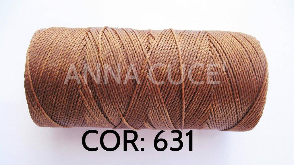 COLORE: 631 - 20 metri filo cerato LINHASITA 1 mm di spessore, filo per macramè, materiali