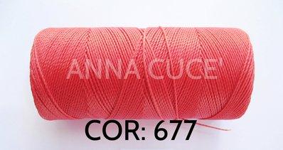 COLORE: 677 - 20 metri filo cerato LINHASITA 1 mm di spessore, filo per macramè, materiali