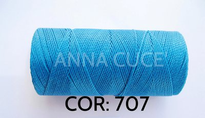 COLORE: 707 - 20 metri filo cerato LINHASITA 1 mm di spessore, filo per macramè, materiali