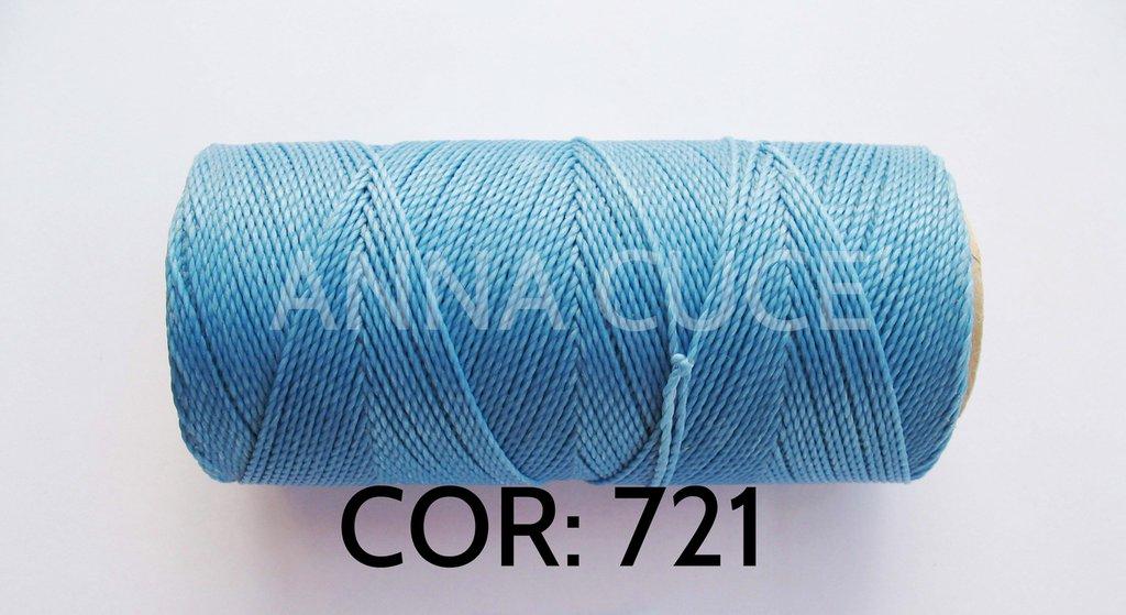COLORE: 721 - 20 metri filo cerato LINHASITA 1 mm di spessore, filo per macramè, materiali